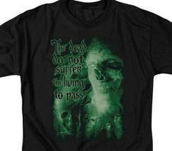 Lord of the Rings King of the Dead Do not suffer the living graphic tee LOR3009 image 2