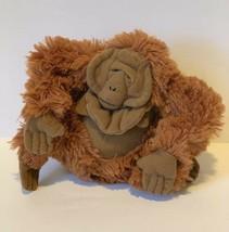 "Disney Jungle Book King Louie Bean Plush 6"" Stuffed Animal Ape Monkey So... - $9.89"