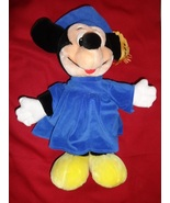 GRADUATION MICKEY MOUSE plush toy walt disney graduate - $9.00