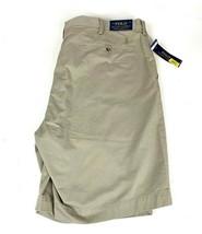 "Polo Ralph Lauren Men's Khaki Shorts Stretch Classic Fit 9"" Tan 44T NEW $85 - $38.26"