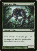 Predatory Sliver x4 English M14 Playset NM ~ Sliver Tribal - $1.48