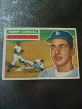 1956 Topps Tommy Carroll 513 Baseball Card - $2.97
