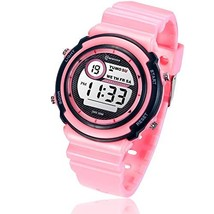 Kids Digital Watch,Boys Girls Sports Outdoor LED Waterproof Multi Functional Wri