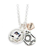 Disney Star Wars HOPE BB8 with Clear Gem Pendant with Chain - $46.00