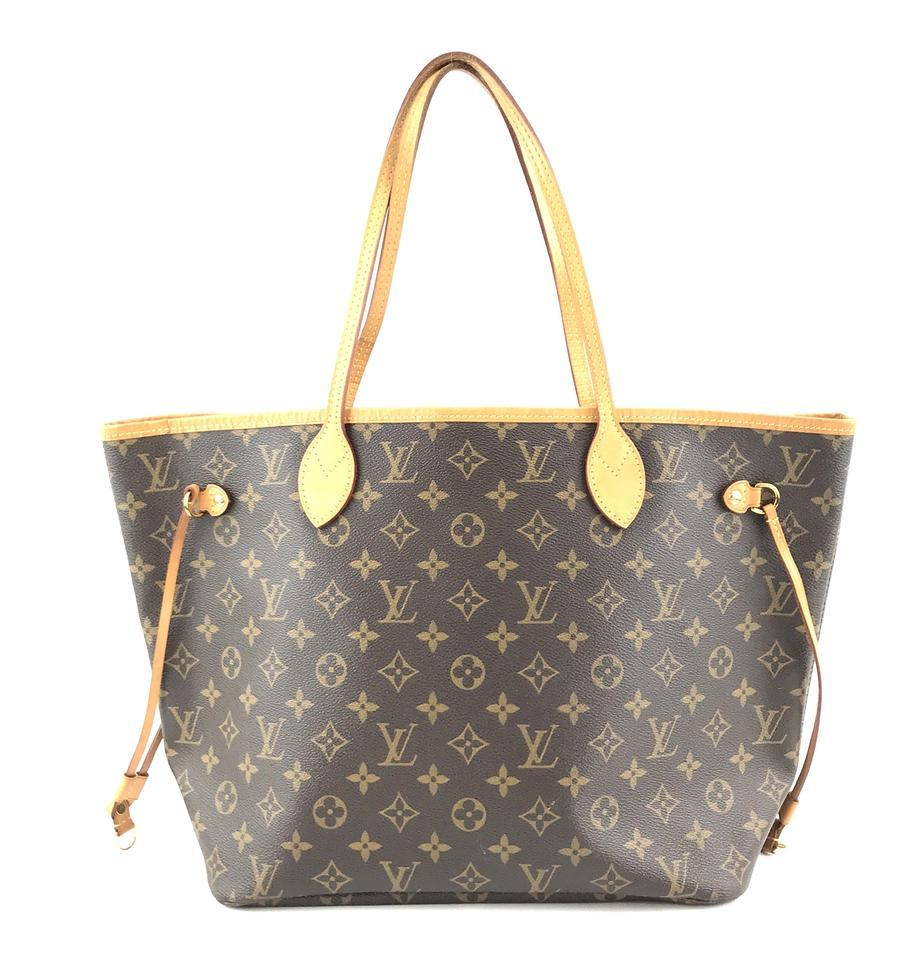 #33306 Louis Vuitton Neverfull Neo New Model Mm Tote Everyday Work Shoulder Bag image 2