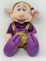 Disney Store Exclusive Dwarf Dopey Elf in Jingle Hat Plush Santa Helper ... - $16.83