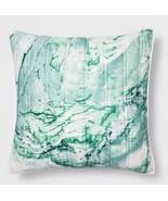1 Target OpalHouse Cream Marble Euro Sham Opal House Blue Green Nwop - $19.79