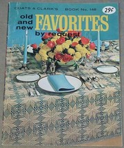 Coats & Clarks Old and new Favorites Book No. 148 - $7.43