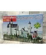 Neuschwanstein Castle 3D Puzzle 151 Pieces New Sealed 8+  Go Games - $39.99