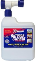 30 SECONDS Outdoor Cleaner 64-oz Moss And Algae Cleaner - $15.29