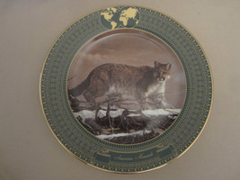 COUGAR collector plate AMERICAN MONARCH Charles Frace BIG CATS Mountain ... - $23.99