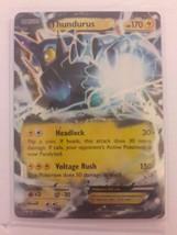 Pokemon Thundurus EX (26/108) XY Roaring Skies Near Mint - $2.77