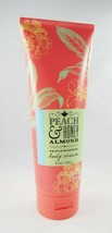 (1) Bath & Body Works Peach & Honey Almond Triple Moisture Shea Body Cre... - $8.54