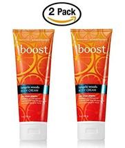 Bath & Body Works Boost Tangelo Woods Body Cream 8 oz / 226 g (2 Pack) - $93.00