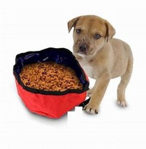 Lot (48 Pieces) - Portable Travel Pet Nylon Food and Water Dog Bowls - $66.95