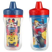 The First Years Insulated Sippy Cups, Mickey Mouse, 9 Ounce Pack of 2 - $10.27
