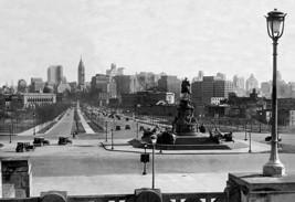 View Of Philadelphia From Art Museum Steps By Free Library Of Philadelphia - Art - $19.99+