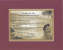 Personalized Touching and Heartfelt Poem for Loving Partners - To My Love [XXXXX - $22.72