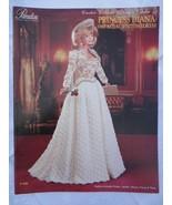 """Paradise Crochet 11 1/2"""" Doll Pattern PRINCESS DIANA '88 ROYAL VISITING ... - $10.84"""