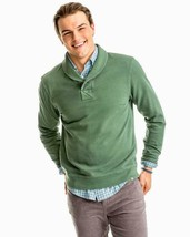 Southern Tide Men's Buchthorn Shawl Pullover Sweater Myrtle Size Large L... - $50.45