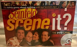 Scene It SEINFELD Edition DVD Board Game New in Sealed Package ~ Yada Yada! - $14.94