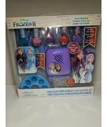 Disney's Frozen II Fun Nail kit with 5 Nail Polishes, nail Dryer, sticke... - $26.19