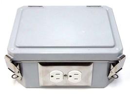 NEW WIEGMANN HW-80604CHQR ENCLOSURE WITH BH118R ELECTRICAL BOX