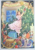 Hallmark Christmas Advent Calendar Card tri-fold Nutcracker Story vintag... - $18.61