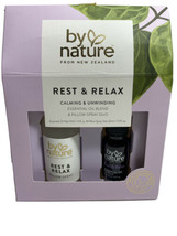 By Nature From New Zeland Rest & Relax Essential Oul Blend & Pillow Spra... - $18.37