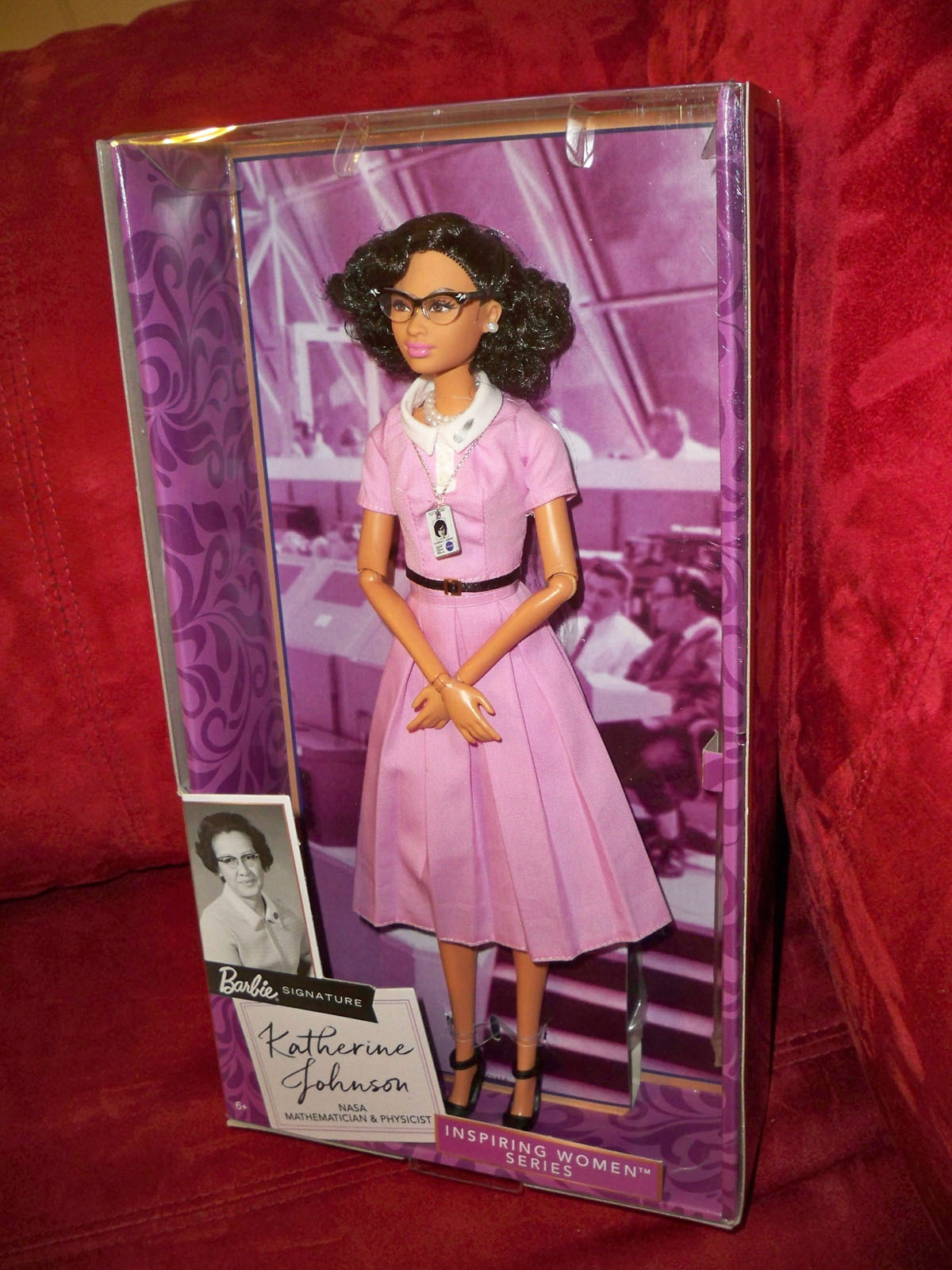 Barbie Inspiring Women Series Katherine Johnson Doll Limited Release Sold Out!