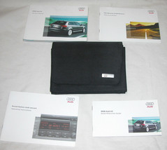2008 Audi A3 Owner's Manual Set With  Sound System & Quick Reference Guides - $54.17