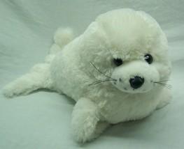 "The Petting Zoo CUTE SOFT WHITE SEAL 13"" PLUSH STUFFED ANIMAL Toy - $19.80"