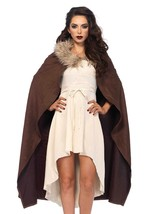Leg Avenue Faux Fur Trimmed Warrior Cape - $29.82