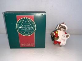 Hallmark Keepsake Ornament Collector's Club Santa's Club List 1992 - $5.00