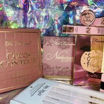 Huge Lot New In Box Too Faced Born This Way Sugar Peach Cocoa Contour Diamond image 4