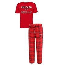 Concepts Sport Men's Chicago Bulls Pajama Pants and T-Shirt Sleepwear Set (Mediu