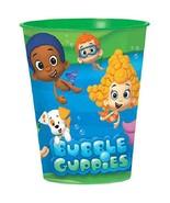 Bubble Guppies Plastic 16 oz Reusable Keepsake Cup with Doggies Party Su... - $3.22