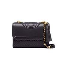 New Tory Burch Fleming Convertible Small Shoulder Bag - Black - $313.00