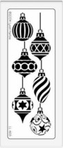 Dreamweaver Metal Stencil Christmas Ornaments #LL468