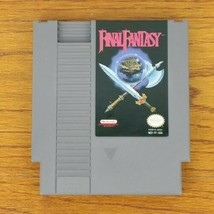 Vintage Final Fantasy Nintendo NES game Cartridge Only 1990 Works - $14.99