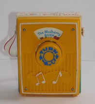 Fisher Price 1970 Pocket Radio Music Box #758 The Mulberry Bush  - $18.80