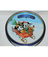 Disney Mickey & Minnie Mouse Pluto Royal Dansk Cookie Tin 2012 - $5.99