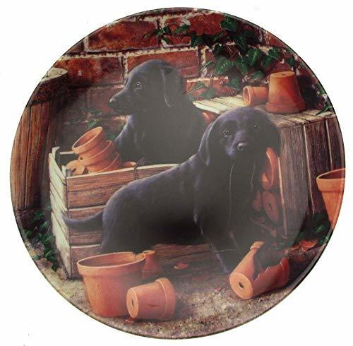 Danbury Mint Pots of Fun from Playful Puppies collection - John Silver - CP1044 - $36.95