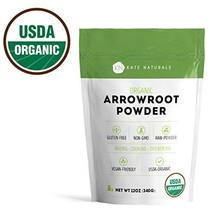 Arrowroot Flour Organic - Kate Naturals. Perfect For Baking, Cooking, Th... - $11.36