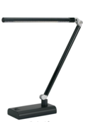 NEW V-Light Energy Saving LED Desk Lamp Ultra Slim VSL392N Black  - $37.90