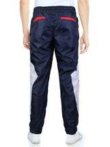 LR Men's Retro Urban Lightweight Athletic Casual Striped Gym Track Sweat Pants image 7