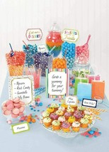 Birthday Candy Party Buffet Decoration Kit Dessert Table Bar CARDS Suppl... - $12.82