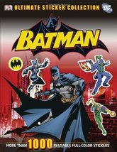 Ultimate Sticker Collection: Batman (ULTIMATE STICKER COLLECTIONS) [Pape... - $18.80