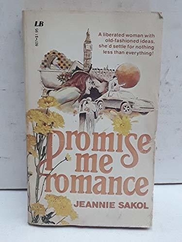 Primary image for Promise Me Romance Sakol, Jeannie