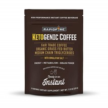 Rapid Fire Ketogenic High Performance Instant Coffee Mix,15 Servings - $96.99